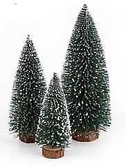 abordables -Artículos Para Celebrar la Navidad Árboles de Navidad Juguetes Taper Shape Vacaciones Niños Adulto Piezas