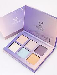 abordables -Set de maquillage Poudre Bronzeurs Sec / Lueur / Mélange Correcteur Chine Maquillage Cosmétique Papier nacre