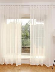 cheap -Contemporary Sheer Curtains Shades Sheer Bedroom   Curtains