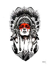 abordables -1 pcs Pegatina tatuaje Los tatuajes temporales Como la imagen Artes de cuerpo brazo / hombro