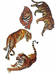 abordables -1 pcs Los tatuajes temporales Impermeable Cuerpo / braquio / hombro Tatuajes Adhesivos
