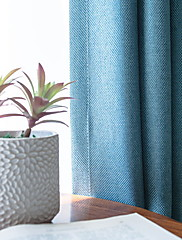 cheap -Blackout Curtains Drapes Bedroom Solid Colored Cotton / Polyester Embroidery