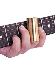 abordables -Accesorio de guitarra Barra deslizante Latón Guitarra Bajo Guitarra Eléctrica 4 pcs Accesorios para instrumentos musicales para amantes de la música y entrenadores