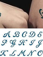 abordables -10 pcs Tatuajes Adhesivos Los tatuajes temporales Series de Flor Artes de cuerpo brazo