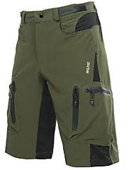 cheap -Arsuxeo Men's Cycling MTB Shorts Polyester Spandex Bike Shorts Baggy Shorts MTB Shorts Breathable Quick Dry Waterproof Zipper Sports Dark Gray / Orange / Dark Green Mountain Bike MTB Road Bike Cycling