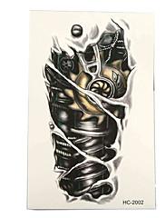 abordables -3 pcs Tatuajes Adhesivos Los tatuajes temporales Series de Tótem Artes de cuerpo brazo