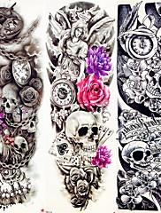abordables -3 pcs Los tatuajes temporales Adhesivo suave / Ecológica / Desechable braquio / Pierna Papel de tarjeta / Tatuajes temporales estilo calcomanía