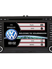 cheap -520WGNR04 7 inch 2 DIN Windows system In-Dash Car DVD Player Touch Screen Built-in Bluetooth for Volkswagen Support RDS / GPS / Steering Wheel Control / Subwoofer Output / Games / TF / USB