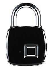 billiga -Rostfritt stål / Zink Alloy Fingeravtryck hänglås Smart Hem Säkerhet Systemet Fingeravtryckslåsning Hushåll / Hem / Hem / kontor Annat / Trädörr / Kompositdörr (Upplåsningsläge Fingeravtryck)
