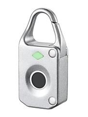 billiga -Rostfritt stål Fingeravtryck hänglås Smart Hem Säkerhet Systemet Fingeravtryckslåsning Hushåll / Hem / kontor / Lägenhet Annat (Upplåsningsläge Fingeravtryck)