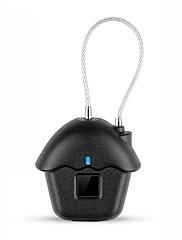 billiga -Zink Alloy Fingeravtryck hänglås Smart Hem Säkerhet Systemet Fingeravtryckslåsning / Låg batteriladdare Hushåll / Hem / Hem / kontor Annat / Trädörr / Kompositdörr (Upplåsningsläge Fingeravtryck)