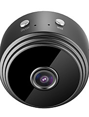 cheap -HQCAM HDMINICAM APP 25fps Wireless Camera P2P IP Mini Cam WIFI Camera 1080P Night Vision Motion Detection 2 mp IP Camera Indoor Support 64 GB / CMOS / 50 / 60 / iPhone OS / Android