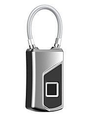 billiga -Anytek L1 Rostfritt stål / Aluminiumlegering Lås / Lösenord Fingeravtryckslås / Fingeravtryck hänglås Smart Hem Säkerhet Systemet Fingeravtryckslåsning Hem / kontor / Skola / Kontor Annat