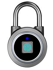 billiga -g Aluminiumlegering Fingeravtryck hänglås Smart Hem Säkerhet Systemet Fingeravtryckslåsning Hem / kontor Annat (Upplåsningsläge Fingeravtryck)