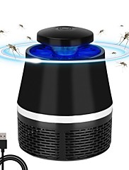 cheap -LED Mosquito Repeller Pest Repeller Lamp Photocatalysis USB Effective Super Mute Silent Safe Advanced Bug Zapper Insect trap Radiationless