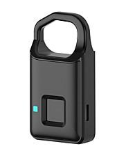 billiga -smart mini hänglås resa rese bekvämt bagage säkerhet anti-lost anti-stjälande fingeravtryckslås