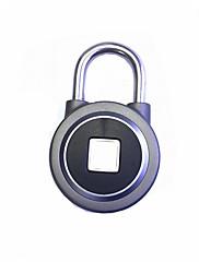 billiga -smart hem elektronisk fingeravtryck hänglås lås trådlöst wifi bluetooth kan skriva in 10 fingeravtryck
