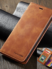 cheap -Forwenw Leather Case for iPhone SE2020 Leather Case Flip Wallet Cover for iPhone11 Pro Max leather case iPhoneX/XS XR XsMax 7/8 Plus plus phone bag and card case