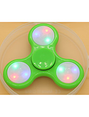 cheap -Fidget Spinner Hand Spinner LED Spinner for Killing Time Stress and Anxiety Relief Focus Toy Office Desk Toys Relieves ADD, ADHD, Anxiety, Autism LED Light Kid's Adults' Boys' Plastic / 14 years+