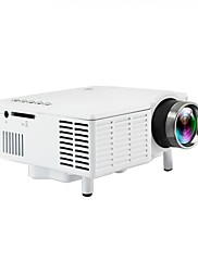 cheap -UC28B Mini Portable LED Projector 1080P LCD Multimedia Home Cinema Theater USB TF LED Beamer Projector for Home Use