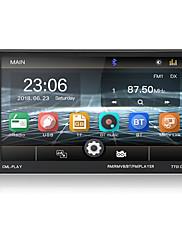 cheap -Car Radio Bluetooth 7 Touch Screen BT Hands-free AUX USB FM Auto Audio Steering Wheel Control MP5 Player Autoradio 2 Din