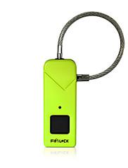 billiga -Factory OEM FL-S2 Rostfritt stål Fingeravtryck hänglås Smart Hem Säkerhet Systemet Fingeravtryckslåsning Hushåll / Skola Annat (Upplåsningsläge Fingeravtryck)