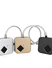 billiga -Factory OEM H2 Rostfritt stål / Zink Alloy Fingeravtryck hänglås Smart Hem Säkerhet Systemet Fingeravtryckslåsning Hushåll Annat (Upplåsningsläge