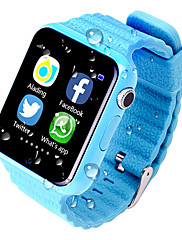 cheap -V7K Kids Smart Watch BT Fitness Tracker Support Notify/GPS/ SOS Location/ Anti-Lost Smartwatch with Camera