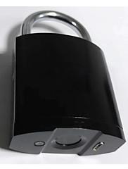 billiga -fpl-01 fingeravtryck hänglås 40 fingeravtryck vattentät design för bagage dörrskåp cykel dator chassi etc.