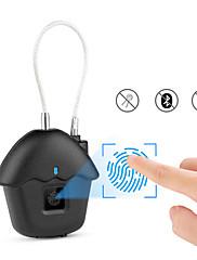 billiga -Factory OEM HK-03 Zink Alloy Fingeravtryck hänglås Smart Hem Säkerhet Systemet Fingeravtryckslåsning Hushåll Annat (Upplåsningsläge Fingeravtryck)