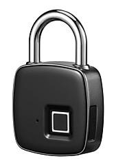 billiga -ip65 vattentät anti-stöld fingeravtryck id smart nyckellös lås dörrfodral väska hänglås