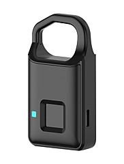 billiga -bärbar smart fingeravtryck nyckellös telefon app hänglås dörrlås
