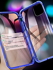 cheap -Magnetic Metal Double Side Tempered Glass Phone Case for iPhone 11 11 Pro 11 Pro Max XS Max XR XS X 8 8 Plus 7 7 Plus