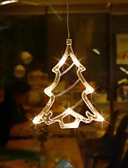 abordables -blanco cristal de navidad árbol de navidad colgar la decoración