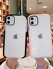 cheap -Case For Apple iPhone 11 / iPhone 11 Pro / iPhone 11 Pro Max Water Resistant Back Cover Transparent TPU