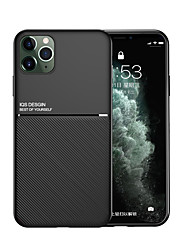 cheap -Case for Apple scene map iPhone 11 11 Pro 11 Pro Max X XS XR XS Max 8 The New Moire series Solid color Frosted Anti-fingerprint Hand sweat prevention PU Skin TPU Two in one phone case