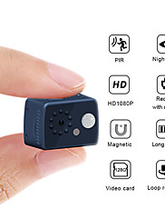 cheap -1080P HD Mini Camera Motion Detection PIR Camera Night Vision DVR Camcorder Sport DV Video Human body inductive camera