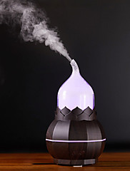 cheap -Gourd Pear Shape Aroma Lamp Humidifier Night Light USB Home Bedroom Air Purifier Creative Decoration