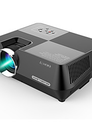 cheap -GT-S8 800 x 480 Portable Multimedia LCD Projector with HDMI USB VGA AV TF Interfaces Support 1080P for Home Cinema Theater Indoor Outdoor Movie Night Entertainment