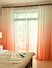 cheap -Two Panel American Style Gradient Color Colorful Printing Curtains Living Room Bedroom Children's Room Curtains
