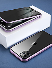 cheap -Magnetic Privacy Glass Double Sided Case for iPhone 11/ 11Pro Case Anti-Peeping 360 Protective Magnet Case for iPhone 11 Pro Max Cover