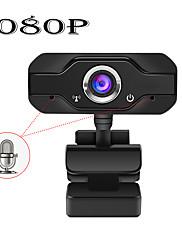 cheap -HD Webcam Built-in Dual Mics Smart 1080P Web Camera USB Pro Stream Camera for Desktop Laptops PC Game Cam For OS Windows10/8