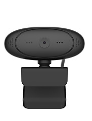 cheap -1080P HD Webcam Rotatable Cameras Mini Computer PC WebCamera with Microphone for Live Broadcast Video Recording Conference Work