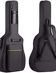 abordables -Guitarra Bolsas y Estuches Tejido de Oxford Guitarra Ukelele Bajo Acústico Dos Correas de Maleta 1 pcs 36-41inch Accesorios para instrumentos musicales para amantes de la música y entrenadores