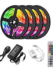 cheap -20m Light Sets 1200 LEDs 2835 SMD RGB Cuttable Linkable Suitable for Vehicles 100-240 V Self-adhesive IP44