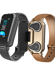 cheap -T89 Smart Watch Bluetooth5.0 Headphone Call Reminder Heart Rate Smartwatch IP67 Waterproof Support Siri BT Call For Android iPhone