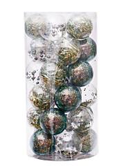 abordables -30 piezas de adornos de bolas de navidad para árbol de navidad - adornos de árbol de navidad inastillables colgantes