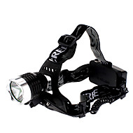 LED Flashlights / Torch Headlamps Headlight Rechargeable 1000 lm LED LED 1 Emitters 3 Mode Rechargeable / Aluminum Alloy
