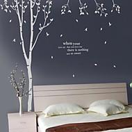 Animaux Botanique Stickers muraux Autocollants avion Autocollants muraux décoratifs, Vinyle Décoration d'intérieur Calque Mural Mur