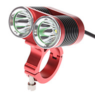 LED Bike Light Bike Light Front Bike Light Cree® XM-L T6 Bicycle Cycling Rechargeable 18650 2400 lm Battery Cycling / Bike / Aluminum Alloy / IPX-4